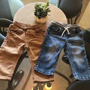EUC Baby Jeans Cat and Jack 12 months